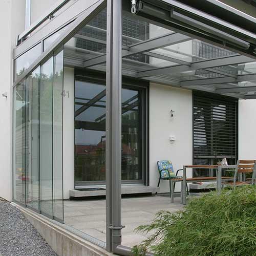 Glas am Bau von Glas Meißner in Kaiserslautern